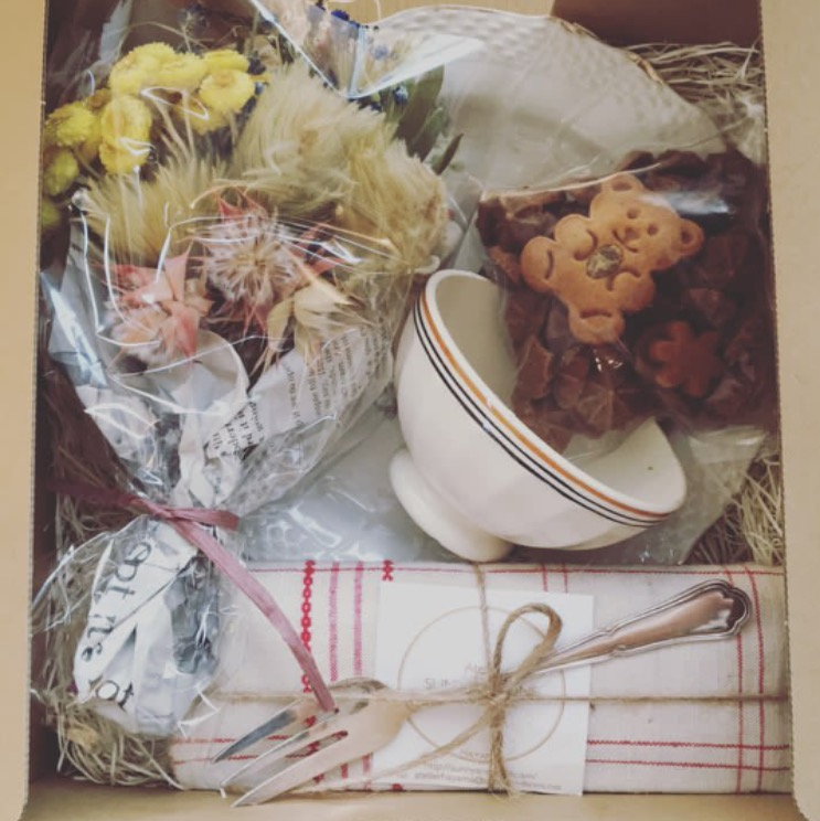 アンティーク&お菓子ギフト</br>(アトリエお引き取り商品)