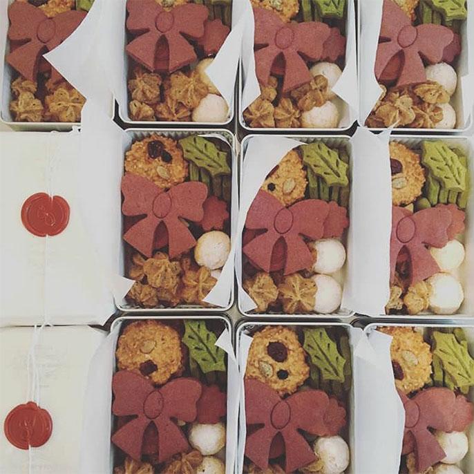 引き菓子(オリジナルクッキー缶)