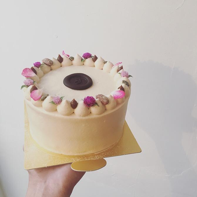 バナナ&カスタード キャラメルクリーム  ショートケーキ