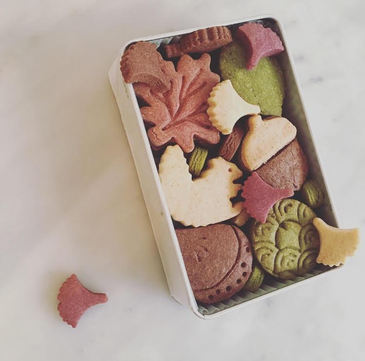11月 クッキーBOX マロン缶
