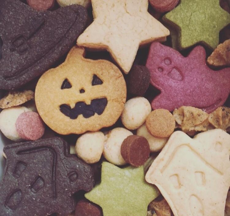 10月 クッキーBOX ハロウィン缶
