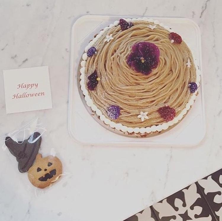チョコレートタルト/モンブラン</br><small>☆ハロウィンクッキー付き</small>